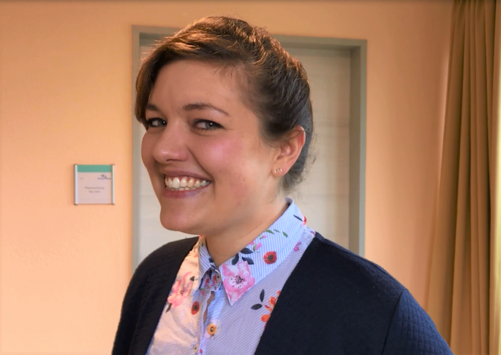 Stipendiatin Janina Ostermeier