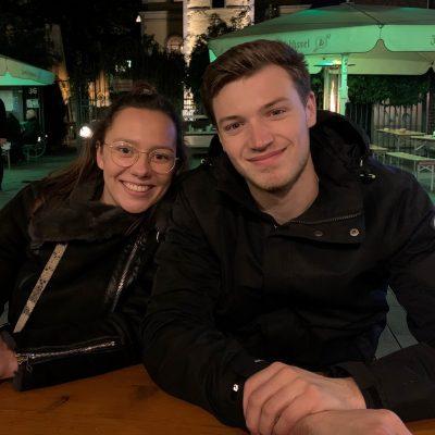 Maik und Sophie_Kachel